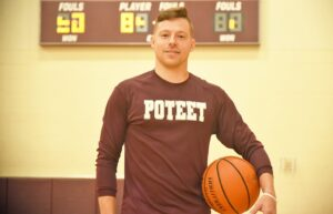 Sean Spain was named Poteet's new boys basketball Head Coach on July 12. He's ready to revive the Aggies and get them back to the playoffs. SAM FOWLER   PLEASANTON EXPRESS