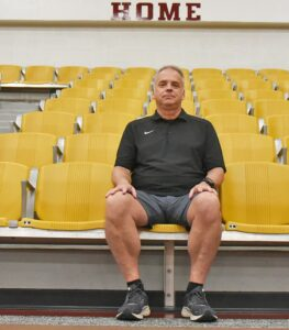 Rob Glasscock was named Charlotte's new volleyball and softball Head Coach on July 8. He's aiming for new heights with each program. SAM FOWLER | PLEASANTON EXPRESS