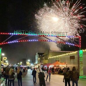 Don't miss the fantastic firework show at this year's 2021 Merry on Main festival in historic downtown Pleasanton the weekend of Dec. 3-4. NOEL WILKERSON HOLMES | PLEASANTON EXPRESS